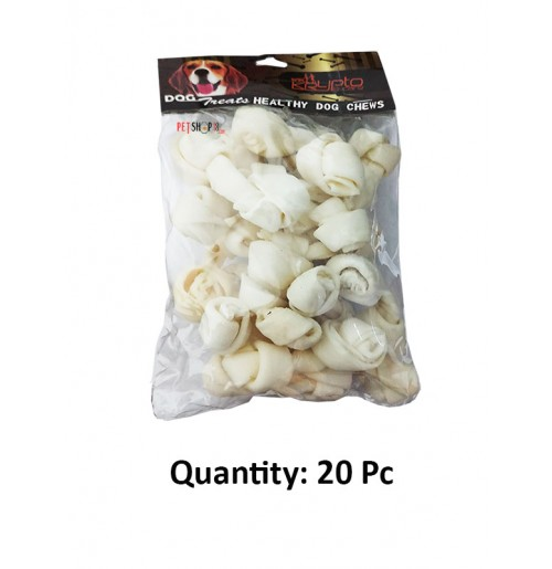 Krypto Dog Treats Protein Chewy Knotted Bone 2 Inch 20 In 1