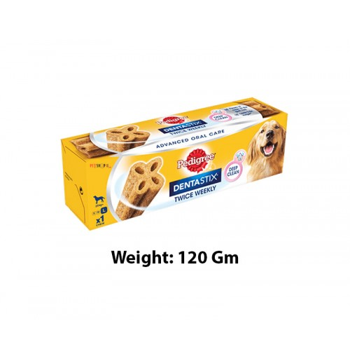 Pedigree Advanced Dentastix Large 120 Gm