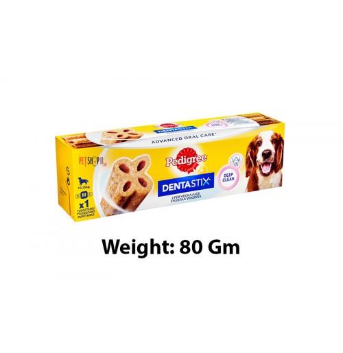 Pedigree Advanced Dentastix Medium 80 Gm