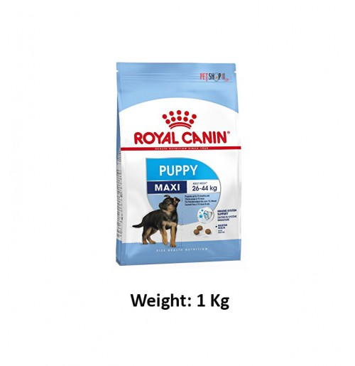 Royal Canin Maxi Puppy Food 1 Kg Petshop18.com
