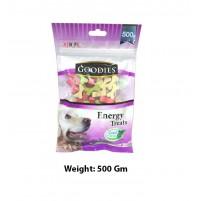 Goodies Energy Dog Treats Cut Bone 500 Gm