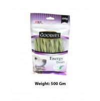 Goodies Energy Dog Treats Chlorophyll Sticks 500 Gm