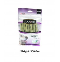 Goodies Energy Dog Treats Chlorophyll Sticks 500 Gm