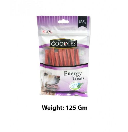 Goodies Energy Dog Treats Lamb Sticks 125 Gm
