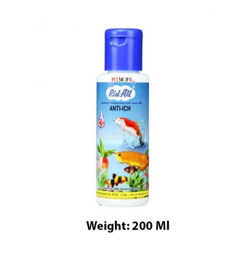 Rid All Fishes Med and Supplements Anti Ich 120 Ml