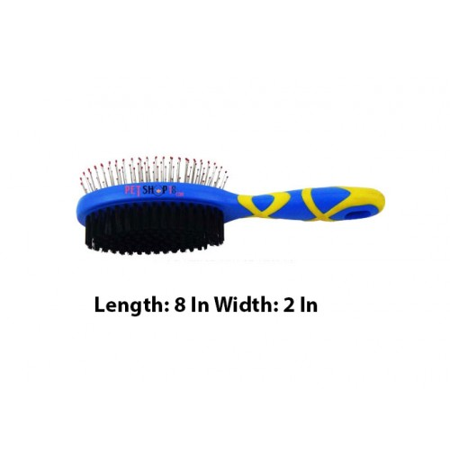 Hellopet Double Sided Dog Pin Brush Small