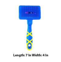 Hellopet Self Cleaning Slicker Dog Brush Medium