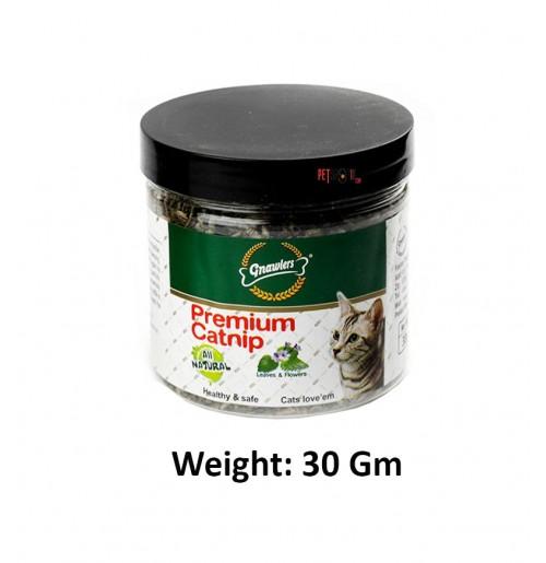 Gnawlers Premium Catnip 30 Gm
