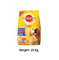 Pedigree Adult Dog Food Chicken And Vegetables 20 Kg