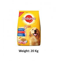 Pedigree Adult Dog Food Chicken And Vegetables 20 Kg