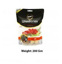 Gnawlers Dog Treats Large Breed Wise Bone Venison With Rosemary 200 Gm