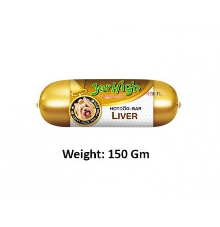 Jerhigh Hotdog Bar Liver 150 Gm