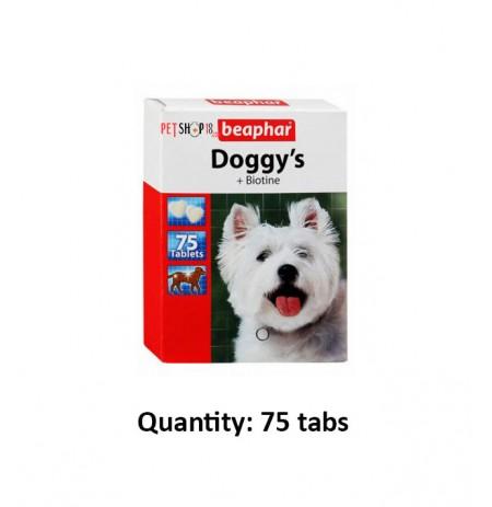 Beaphar Doggys Plus Biotine 75 Tabs