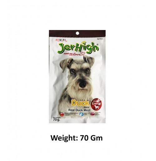 Jerhigh Dog Treat Duck Stick 70 Gm