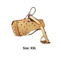 Super Dog Leather Muzzle XXL