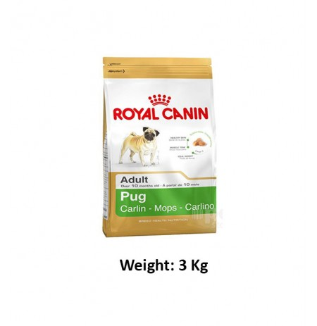 Royal Canin Adult Dog Food Pug 3 Kg