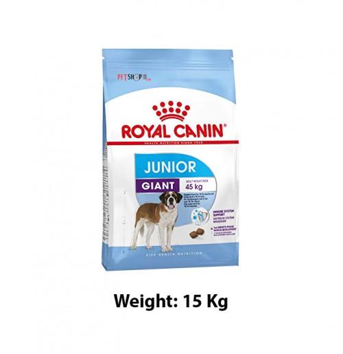 Royal Canin Giant Junior Food 15 Kg