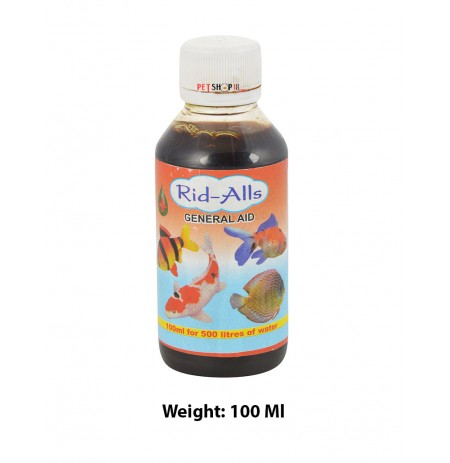 Rid All Fishes Med and Supplements General Aid 100 Ml