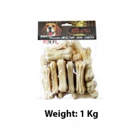 Krypto Dog Treat Protein Pressed Bone 3 Inch 1 Kg