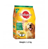 Pedigree Adult Dog Food 100% Vegetarian 1.2 Kg