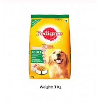 Pedigree Adult Dog Food 100% Vegetarian 3 Kg