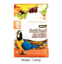 Zupreem Fruitblend Natural Fruit Flavour Big Parrot 1.58 Kg