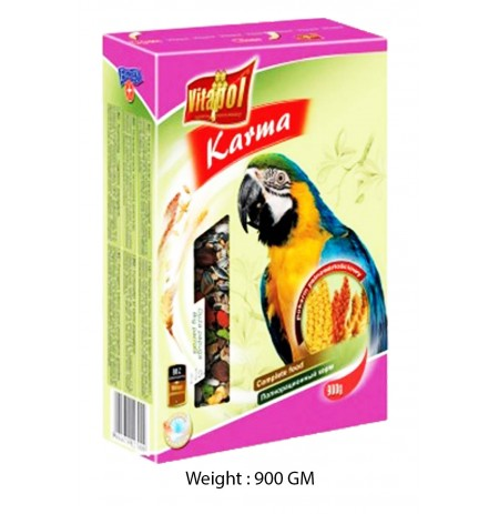 Vitapol Karma Big Parrot Complete Food 900 Gm