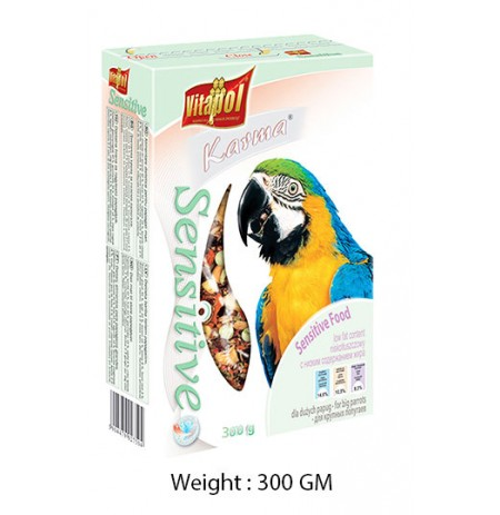 Vitapol Karma Sensitive Big Parrot Food 300 Gm