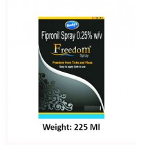 Fipronil Freedom Dog Spray 225 Ml