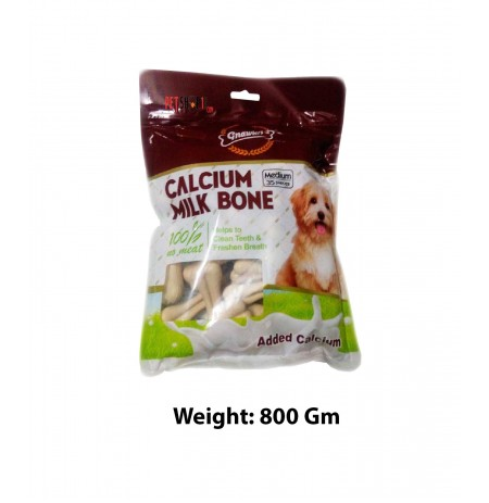 Gnawlers Dog Treats Calcium Milk Bone 35 In 1 800 Gm