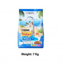 Purina Friskies Adult Dry Cat Food Seafood Sensations 7 Kg