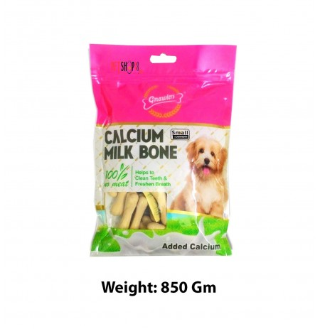 Gnawlers Calcium Milk Bone 90 In 1 850 Gm