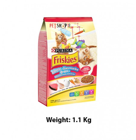 Purina Friskies Kitten Discoveries Food 1.1 Kg