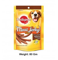 Pedigree Meat Jerky Stripes Grilled Liver 80 Gm