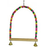 Hanging Arch Shaped Bird Toy Small