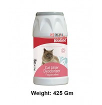 Bioline Cat Litter Deodorizer Fragrance Free 425 Gm
