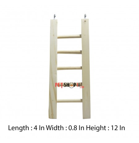 Petshop18 Bird Toys Ladder Medium
