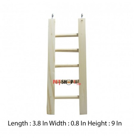 Petshop18 Bird Toys Ladder Small