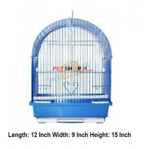 Bird Cage Curve Small Blue