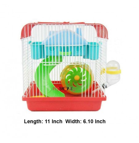 Colorfull Hamster Cage Mini