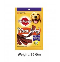 Pedigree Meat Jerky Roasted Lamb Flavor 80Gm