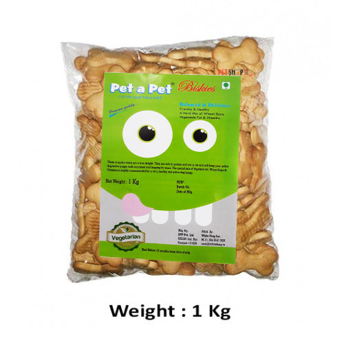 Pet A Pet Dog Treats Veg Pet Biscuit 1 Kg
