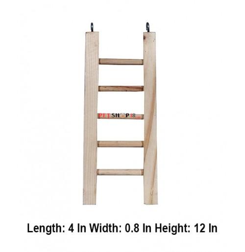 Petshop18 Bird Toys Ladder Medium