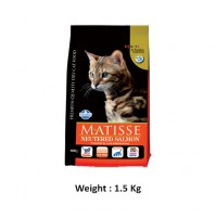 Farmina Matisse Cat Food Neutered Salmon 1.5 Kg
