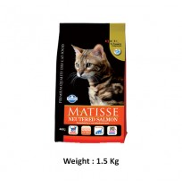 Natural And Delicious Matisse Cat Food Neutered Salmon Food 1.5 Kg
