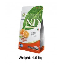 Natural And Delicious Cat Food Fish And Orange Grain Free Formula 1.5 Kg
