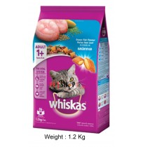 Whiskas Cat Food Ocean Fish 1.2 Kg