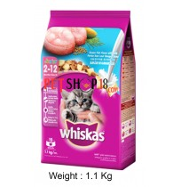Whiskas Kitten Food Milky Ocean Fish 1.1 Kg