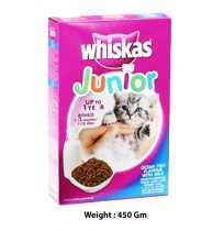 Whiskas Kitten Food Ocean Fish Flavour With Milk 450 Gm