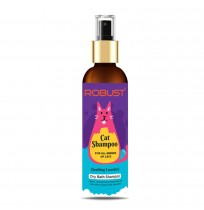 Robust Cat Dry Bath Shampoo 200 ML